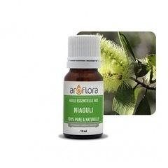 Huile essentielle biologique NIAOULI - 10 ml - 100 % pure et naturelle